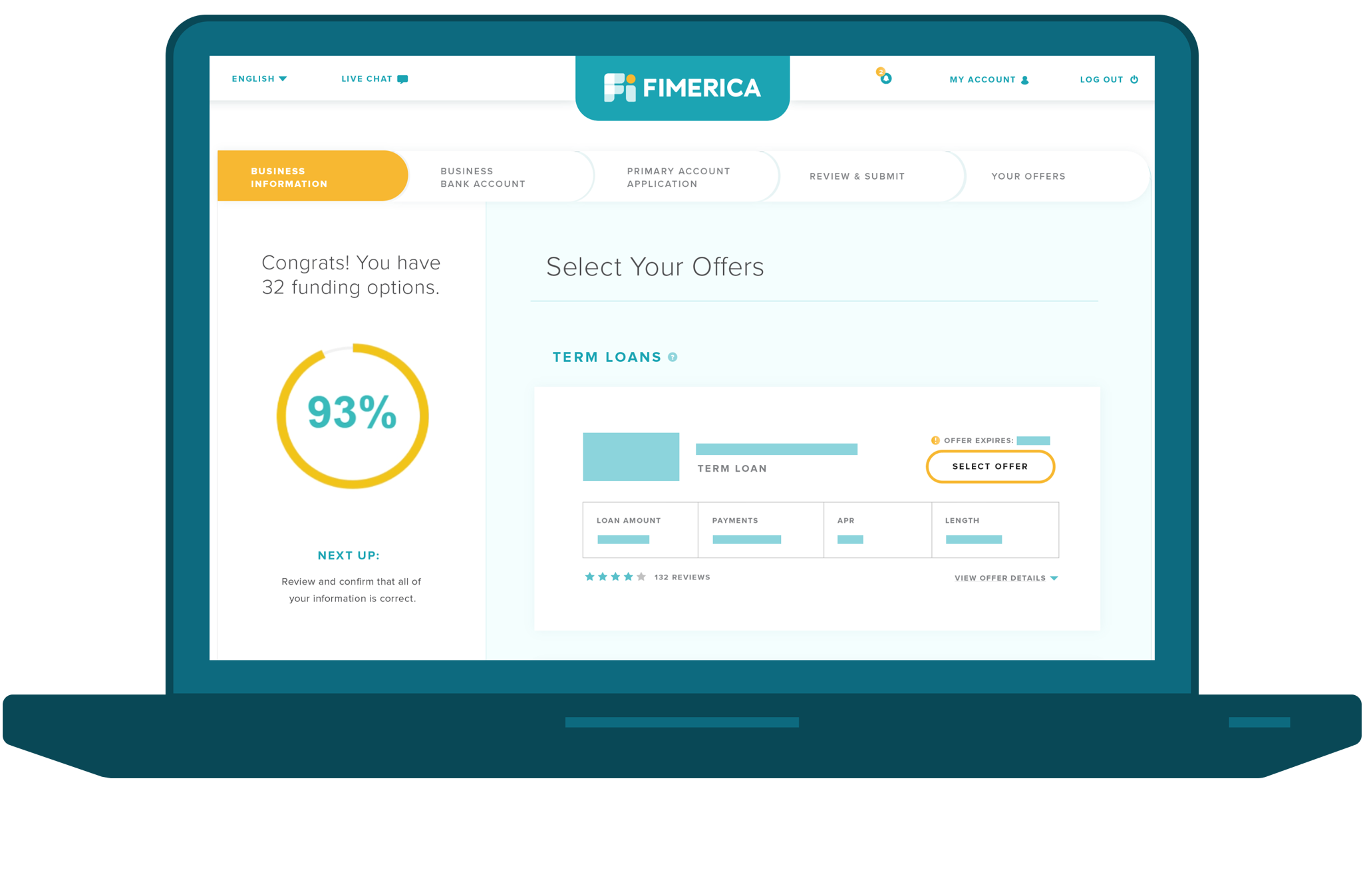 Business Finance Leads on the Fimerica Platform